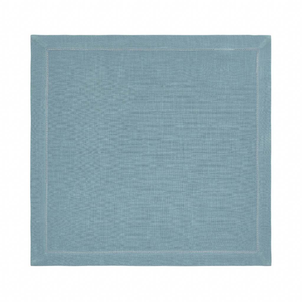 Guardanapo Tecido 50x50 cm Ponto Ajour Coloratta Cobalto