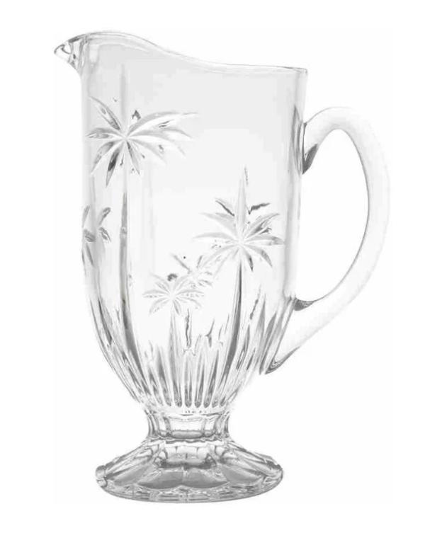 Jarra de Cristal 2L Palm Tree
