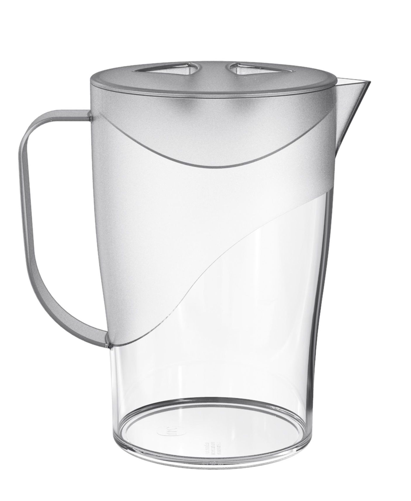 Jarra de Plástico 2L Transparente Translúcido