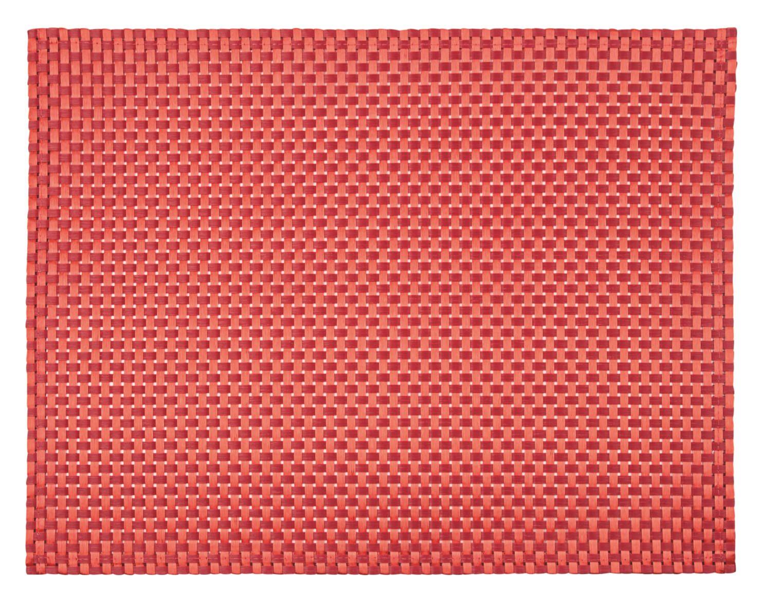 Jogo Americano 35x45 Tramado Especial Vermelho