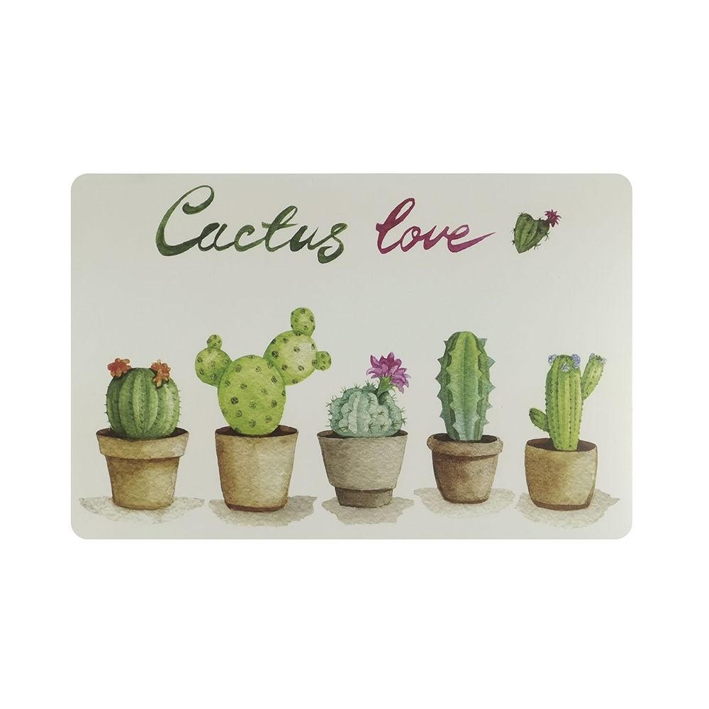 Jogo Americano 43x28cm Cactus Love