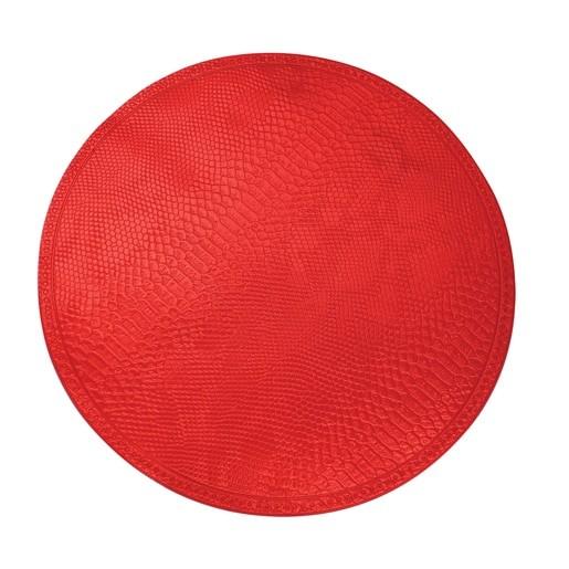 Jogo Americano Print 38cm Vermelho
