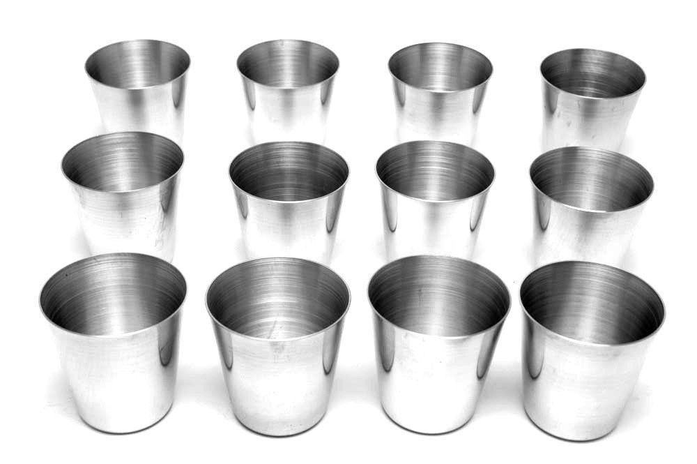 Jogo de 12pçs Forminhas Petit Gateau Alumínio