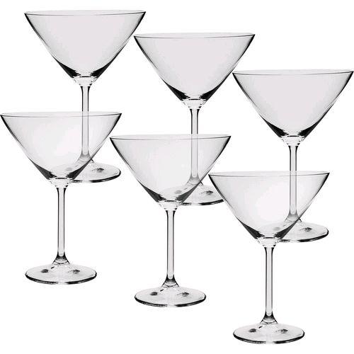 Jogo de 6 Taças Cristal 280 ml Gastro Martini
