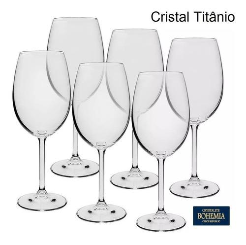 Jogo de 6 Taças Cristal Vinho Branco 350 ml Gastro