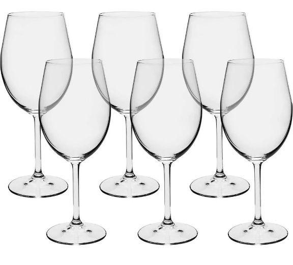 Jogo de 6pçs Taças Vinho Tinto 450ml Gastro