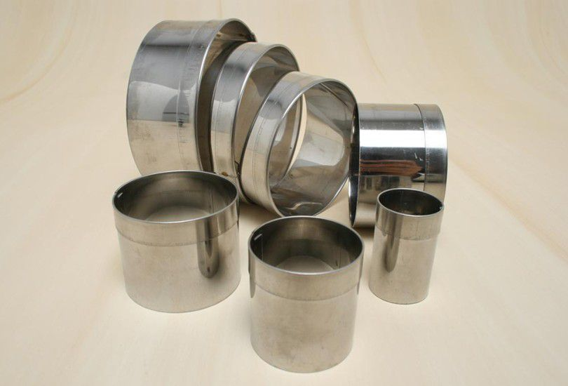 Jogo de Cortador Redondo Liso Alumínio 7 peças