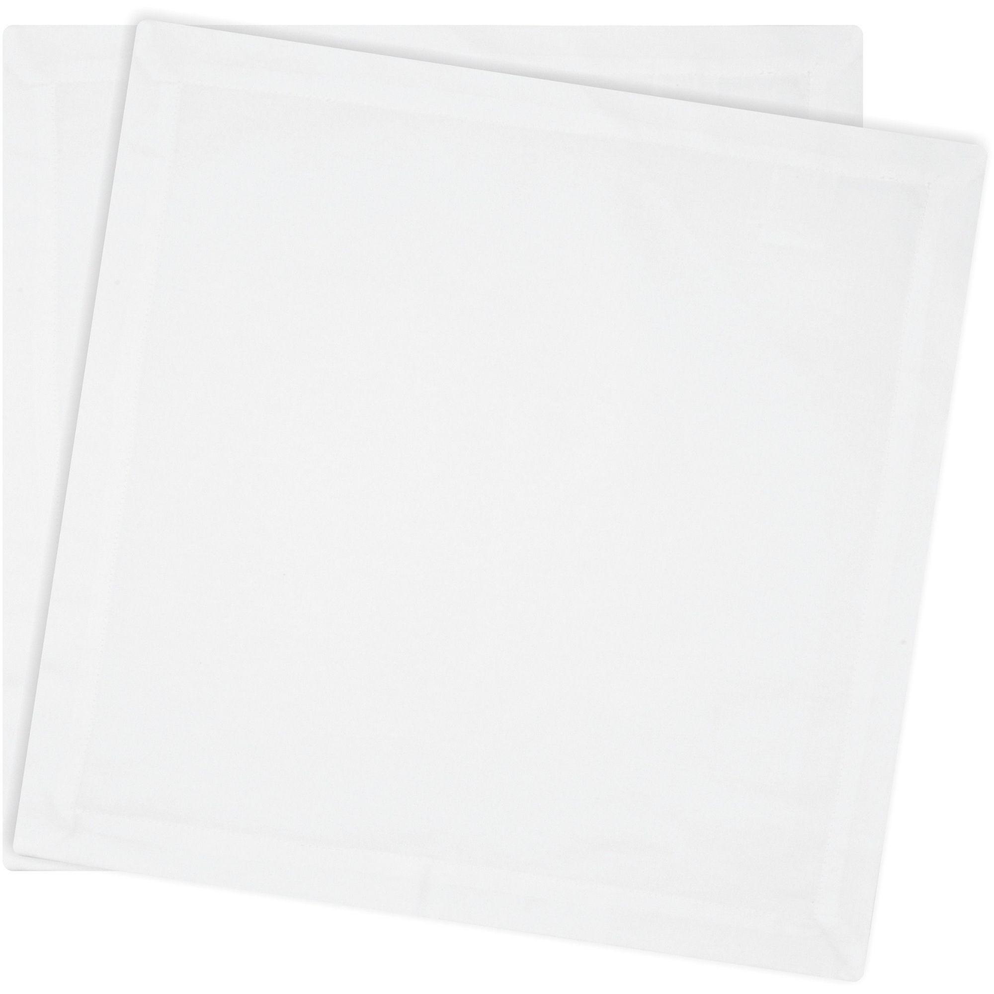 Jogo de Guardanapo Tecido 2pçs Composee Branco