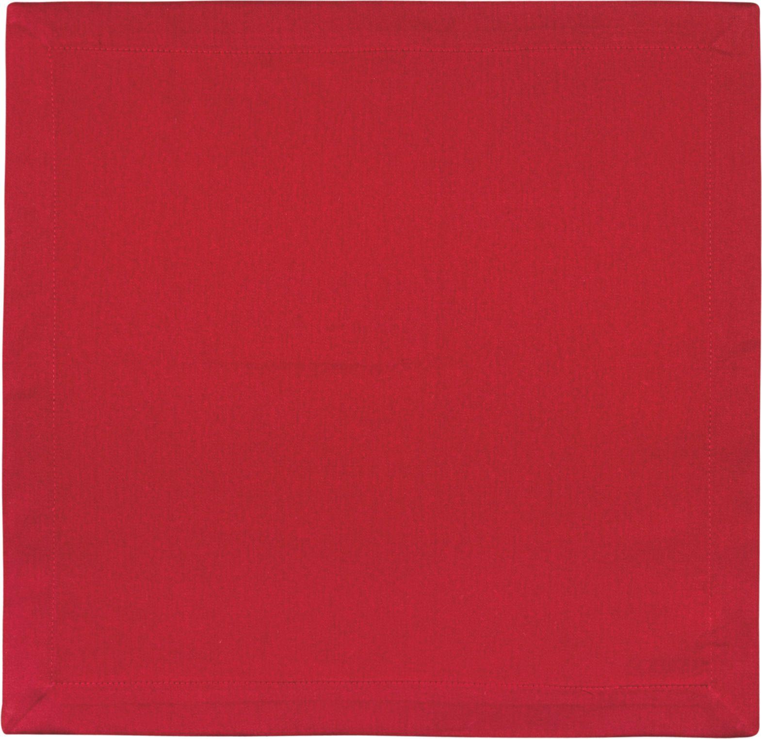 Jogo de Guardanapo Tecido 2pçs Composee Vermelho