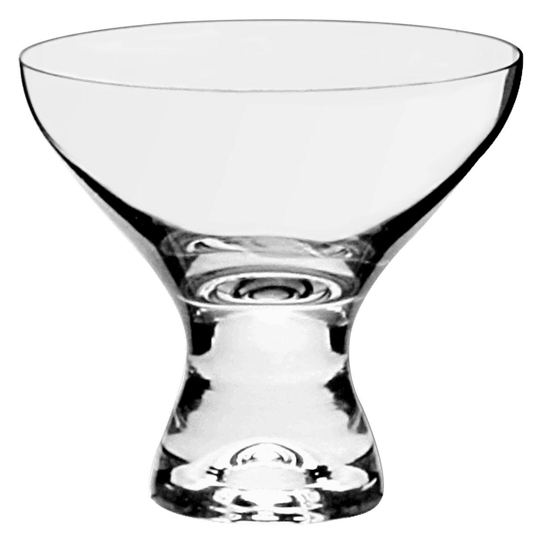 Jogo de taças Sobremesa Cristal 6pçs 330ml Vega