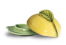 Mantegueira Cerâmica 19cm Limão Siciliano