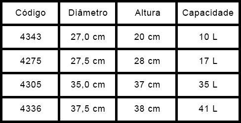 Marmitão Térmico 41L