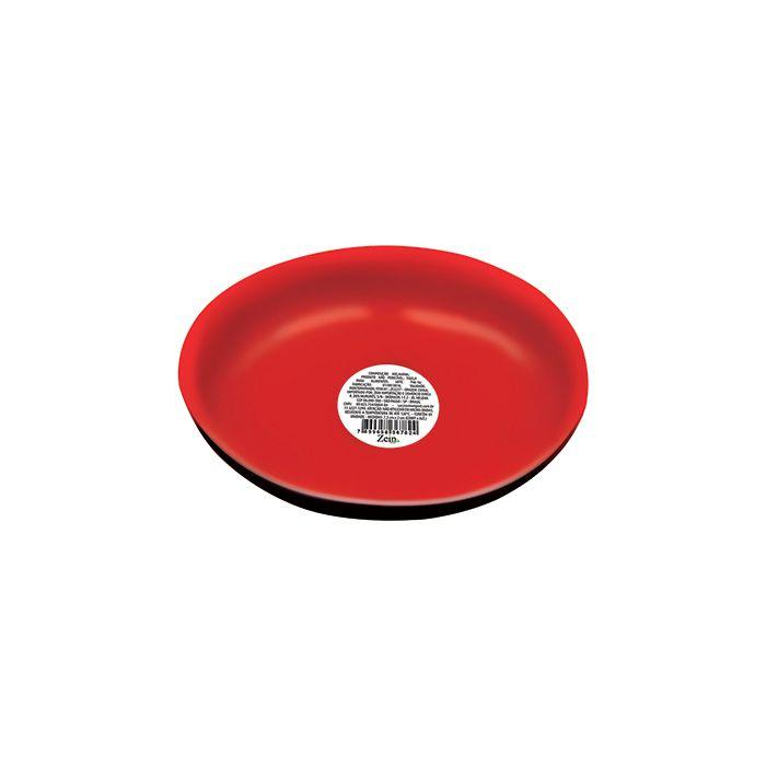 Mini Tigela Japa 7x2 cm Vermelha e Preta
