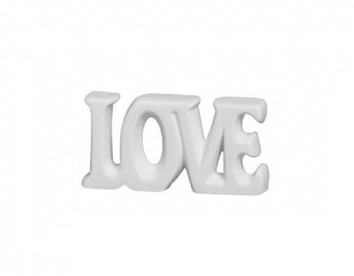 Palavra Decorativa Love Prata