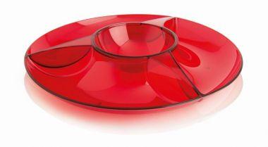 Petisqueira 4 Divisões Luna Vermelho