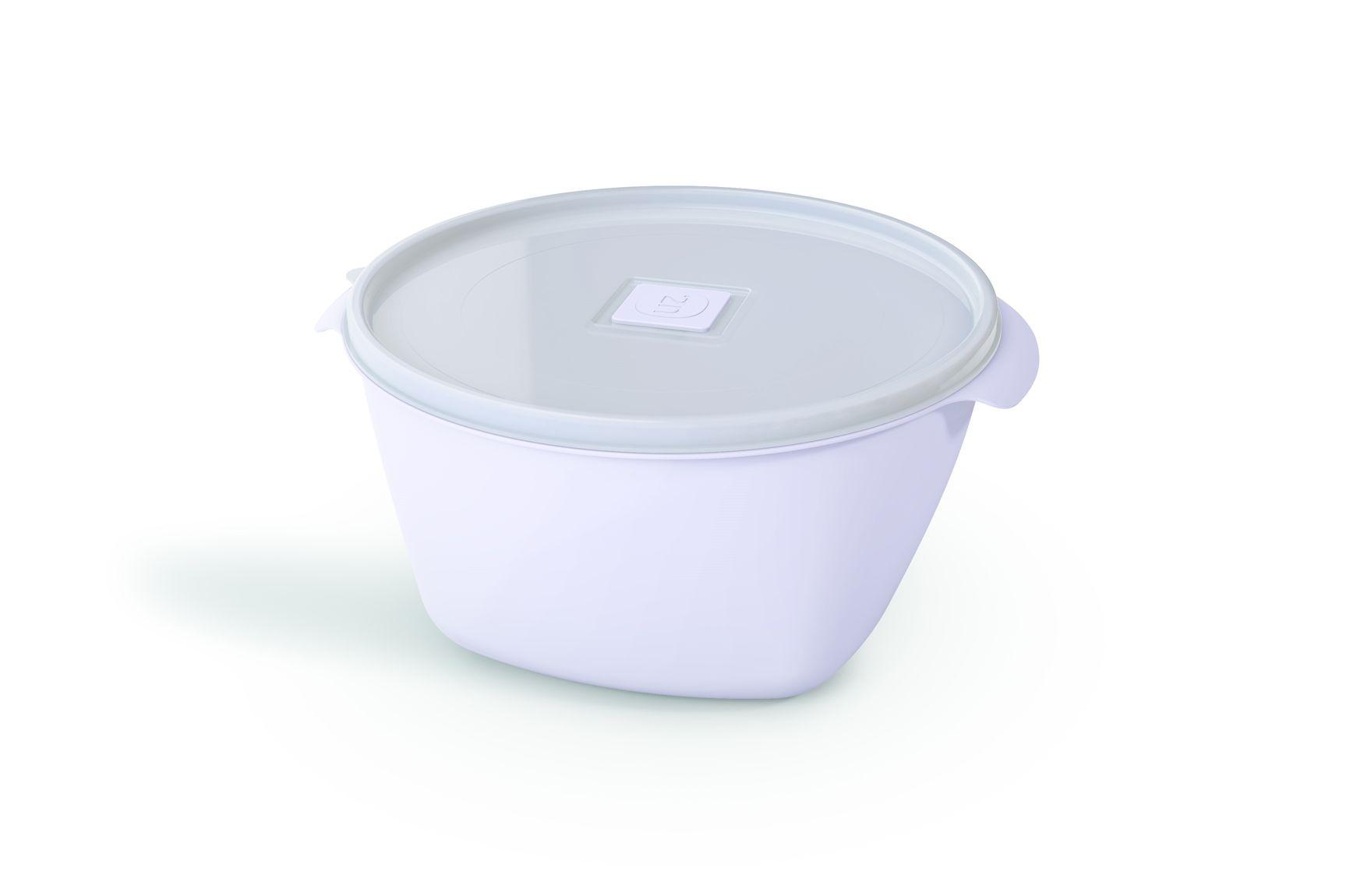 Pote Plástico 2,0 L Premium Branco