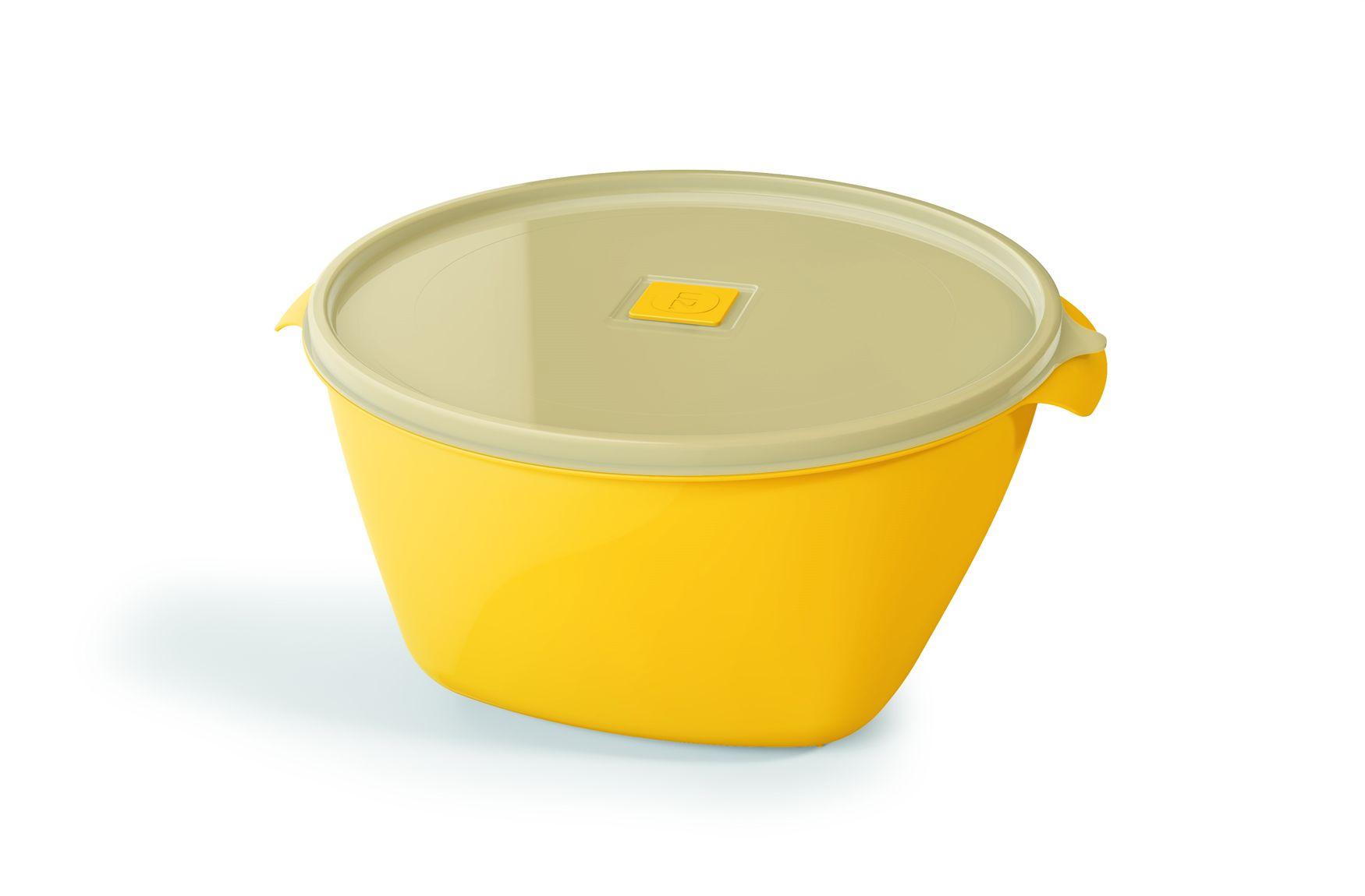 Pote Plástico 4,0 L Premium Amarelo