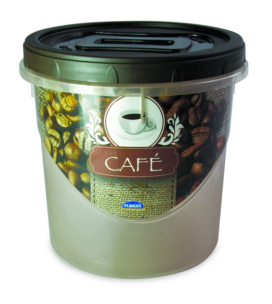 Pote Rosca 1,8 L Decora Café