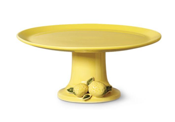 Prato de Bolo Grande Limão Siciliano