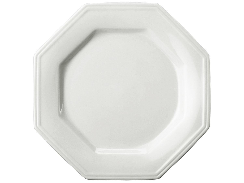 Prato de Porcelana Fundo 24cm Prisma