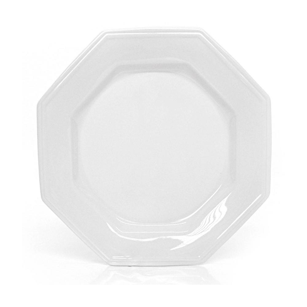 Prato de Porcelana Raso 28cm Prisma