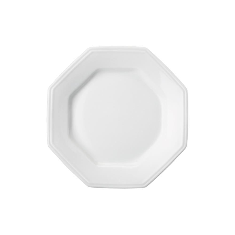 Prato de Porcelana Sobremesa 20cm Prisma