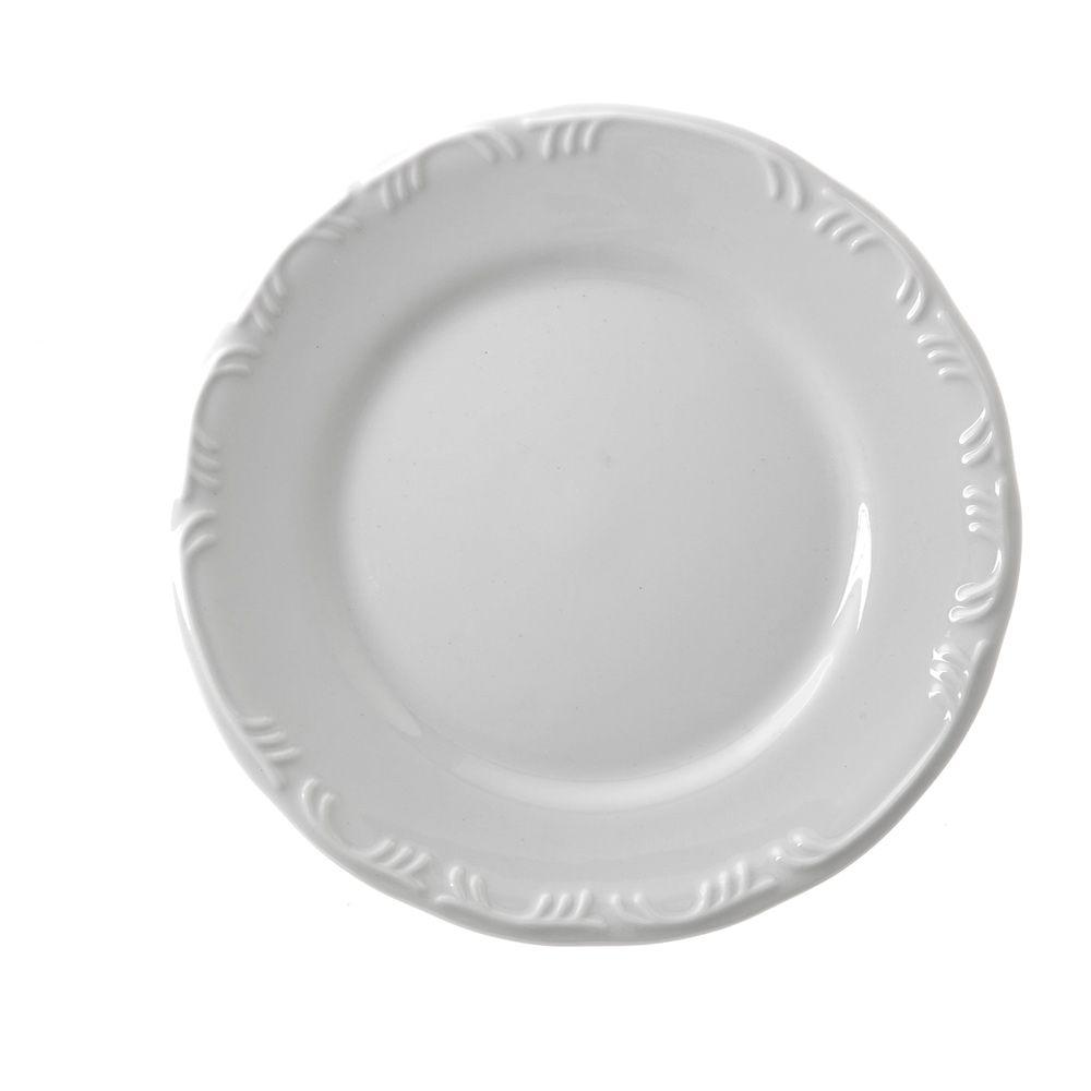 Prato de Porcelana Sobremesas 19cm Pomerode