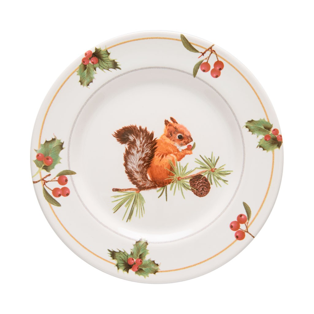 Prato de Sobremesa 20cm Aquarelle Christmas