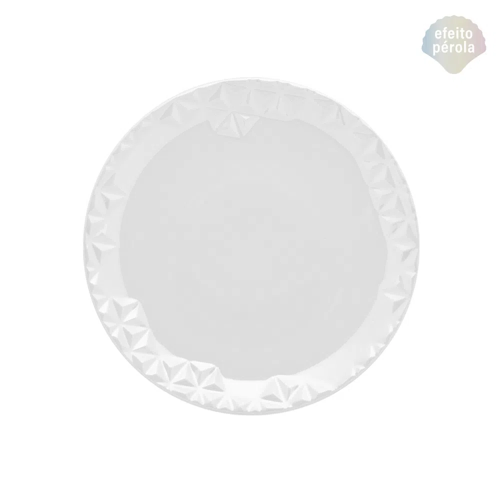 Prato de Sobremesa 21cm Mia Perola