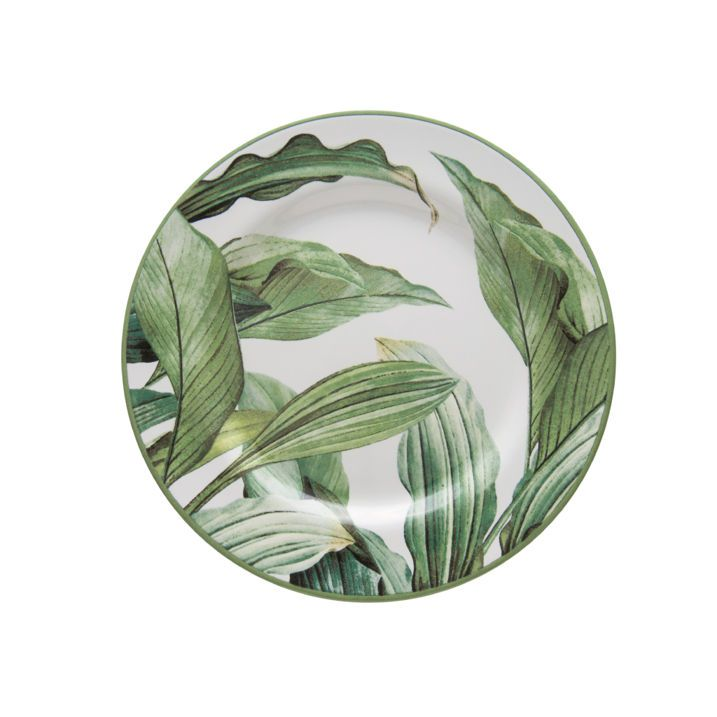 Prato de Sobremesa  Aquarelle Folhas
