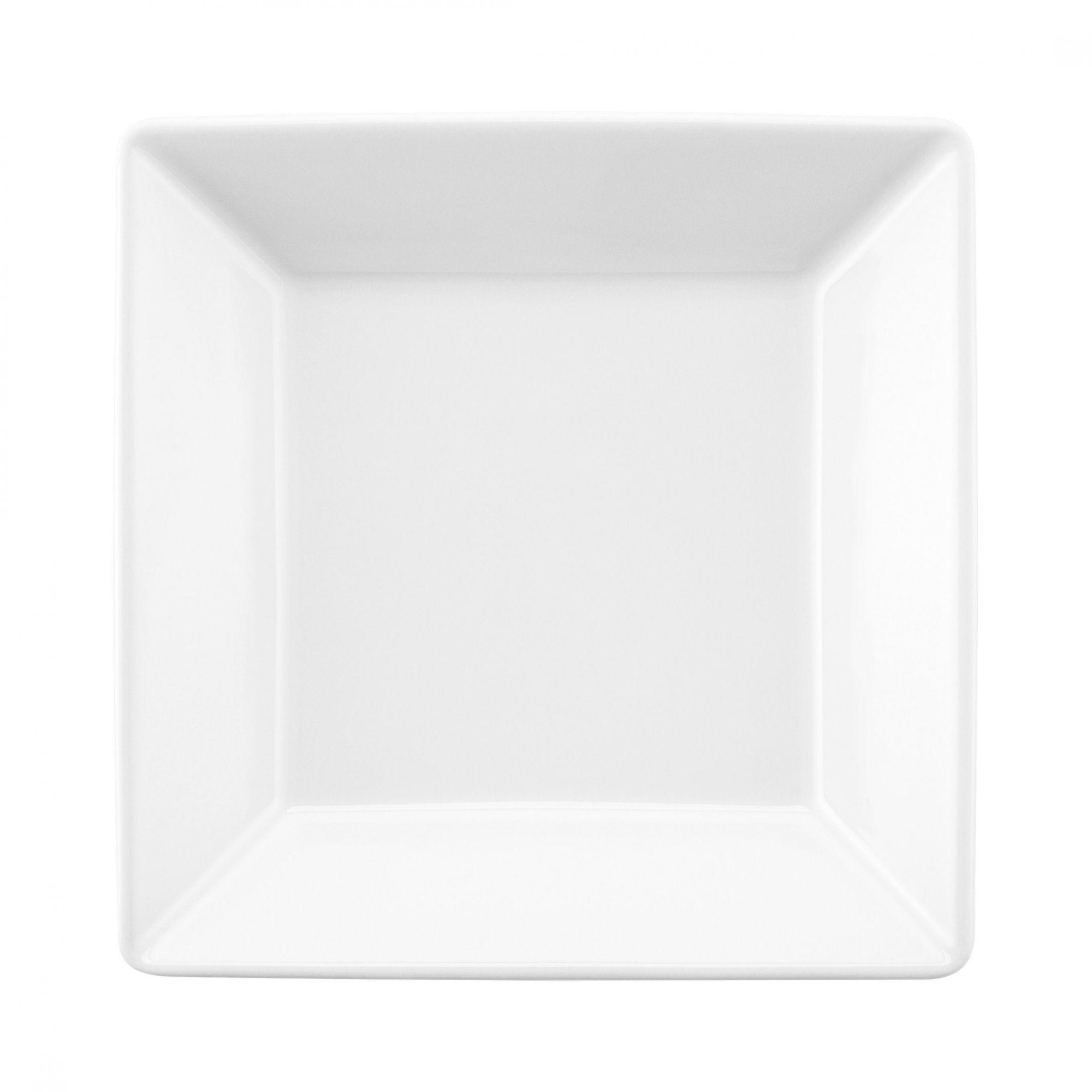 Prato Fundo 21 cm Quartier White