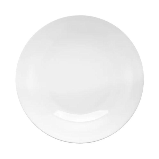 Prato Fundo 21cm Moon White