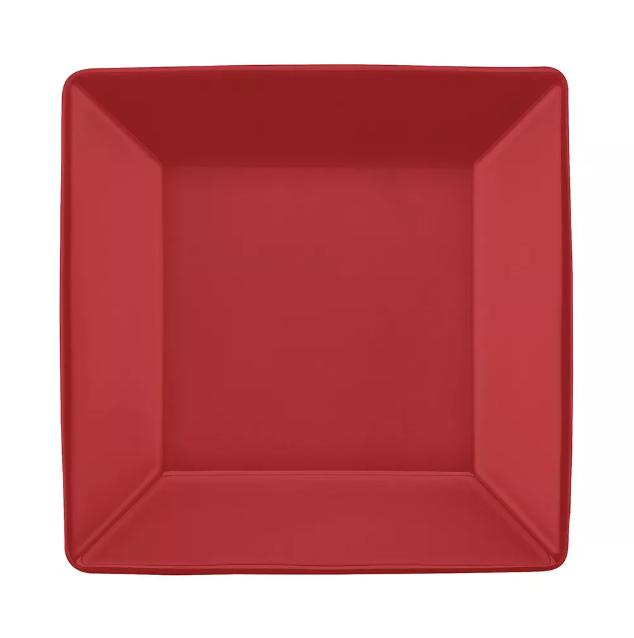 Prato Fundo 21cm Quartier Red