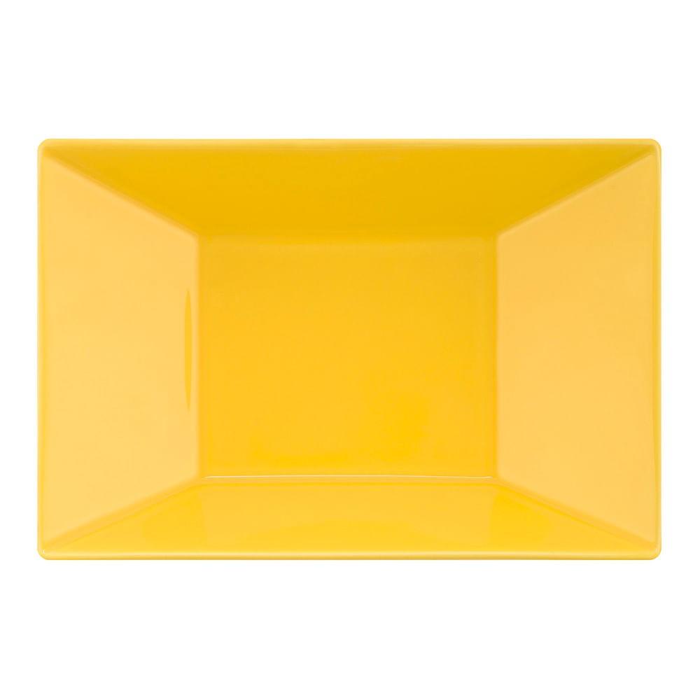 Prato Fundo 23,5x16cm Plateau Yellow
