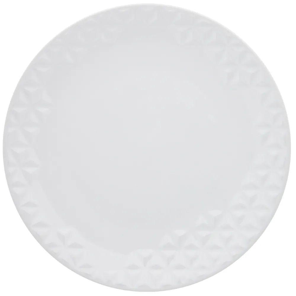 Prato Raso 28,5 cm Mia Branco