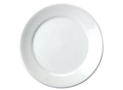 Prato Raso 24 cm Convencional Branco