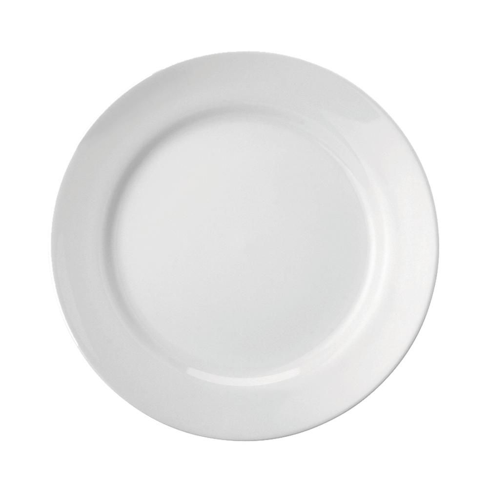 Prato Raso 26 cm Cilindrica Branco