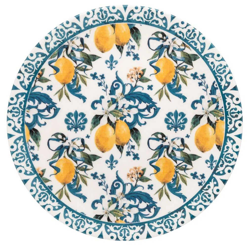Prato Raso 26 cm Limão Siciliano