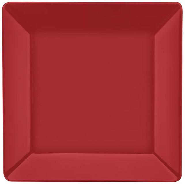 Prato Raso 26cm Quartier Red