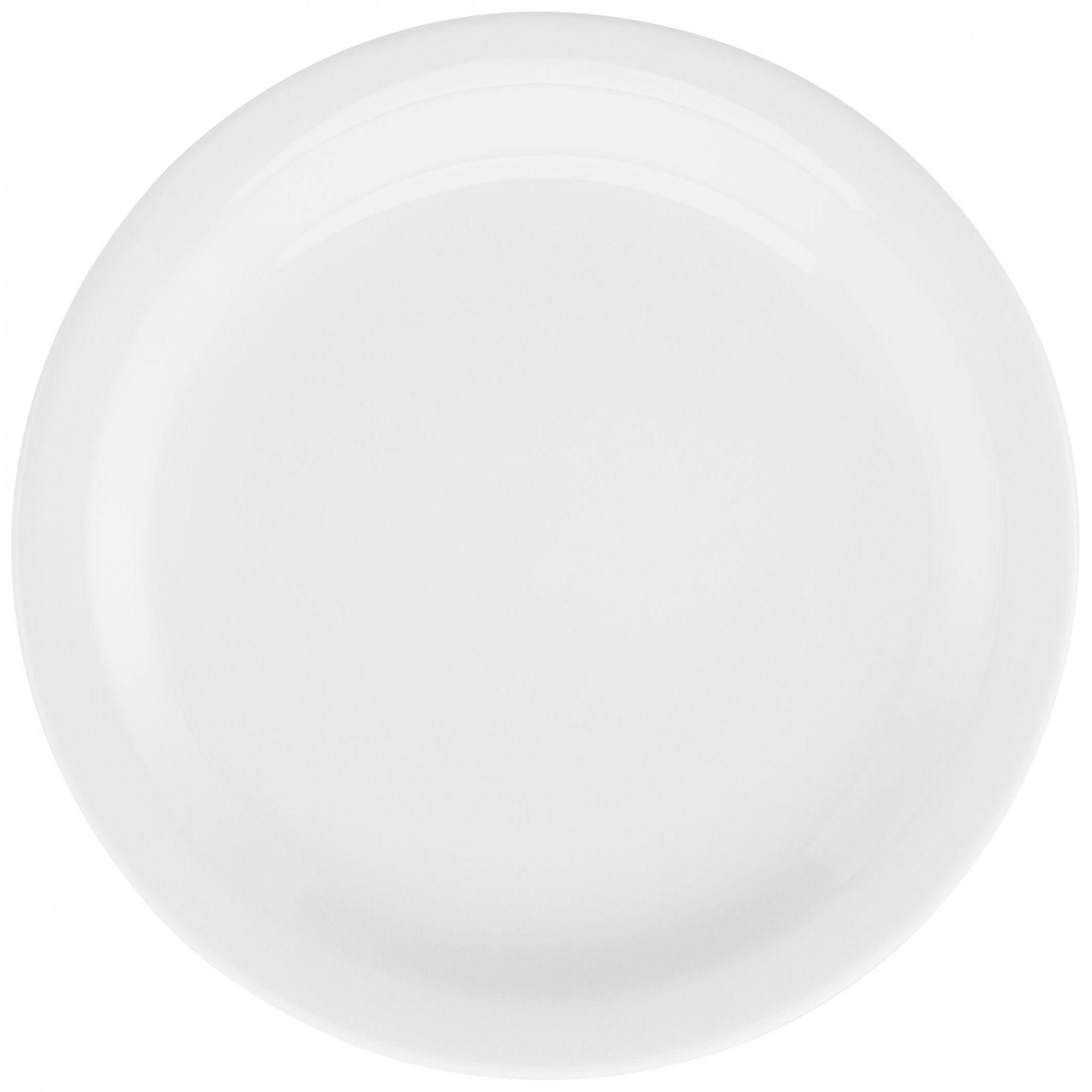 Prato Raso 27 cm Gourmet Pró Branco
