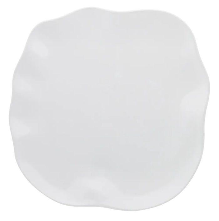 Prato Raso 28 cm Zen Branco