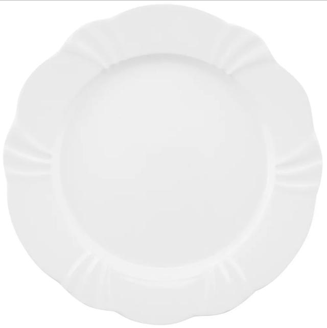 Prato Raso 29cm Soleil White