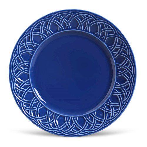 Prato Raso Cestino Azul Navy
