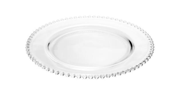 Prato Raso de Cristal 27cm Wollf Pearl