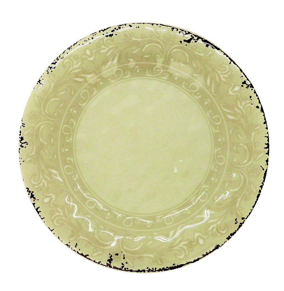 Prato Raso Melamina 27 cm Antique