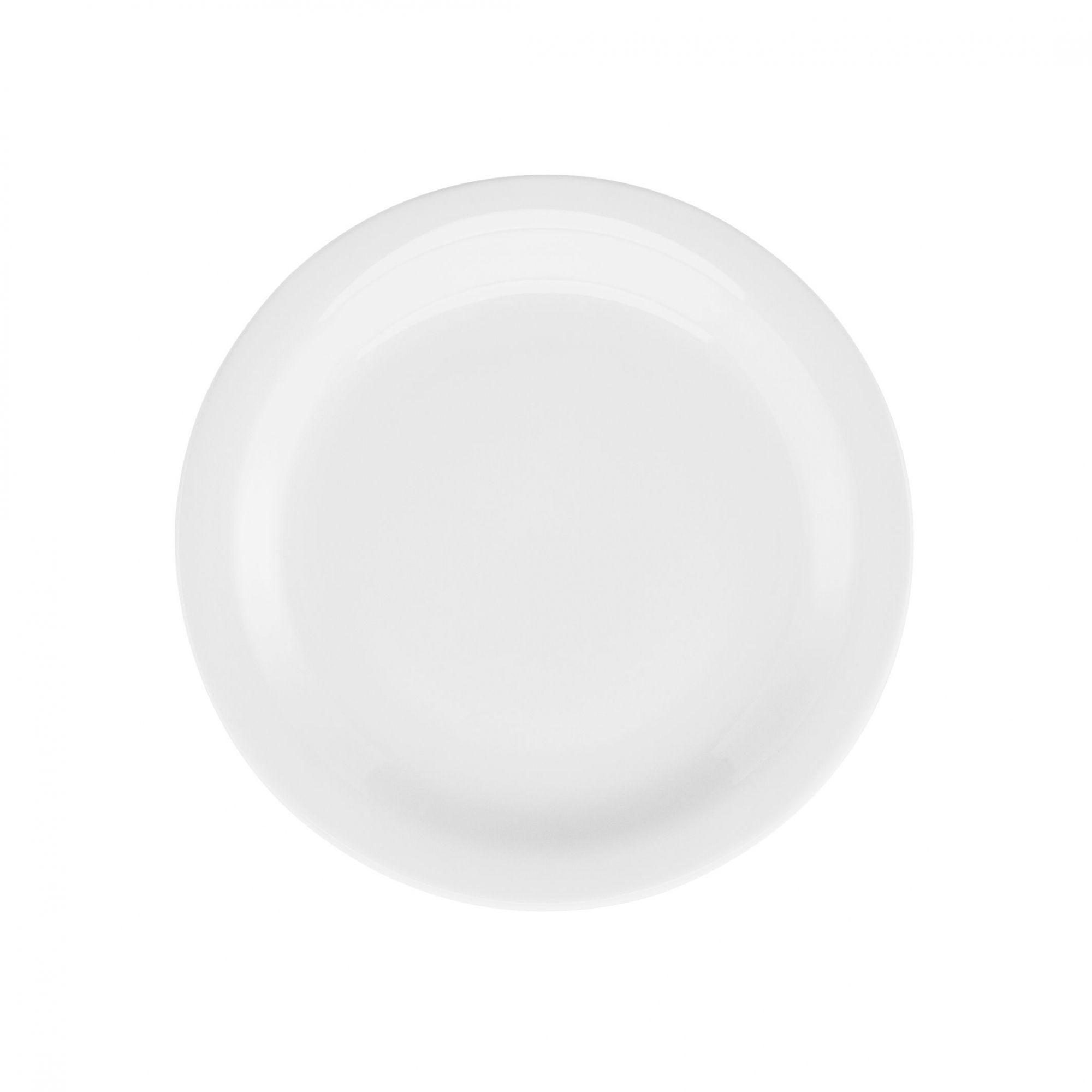 Prato Sobremesa 20 cm Gourmet Pró Branco