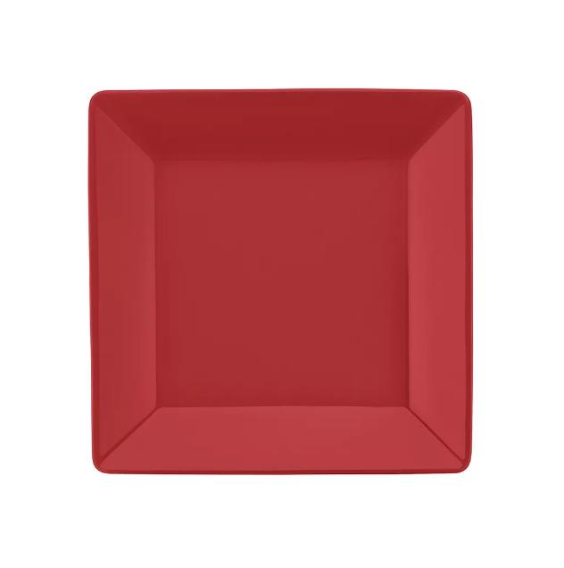 Prato Sobremesa 20cm Quartier Red