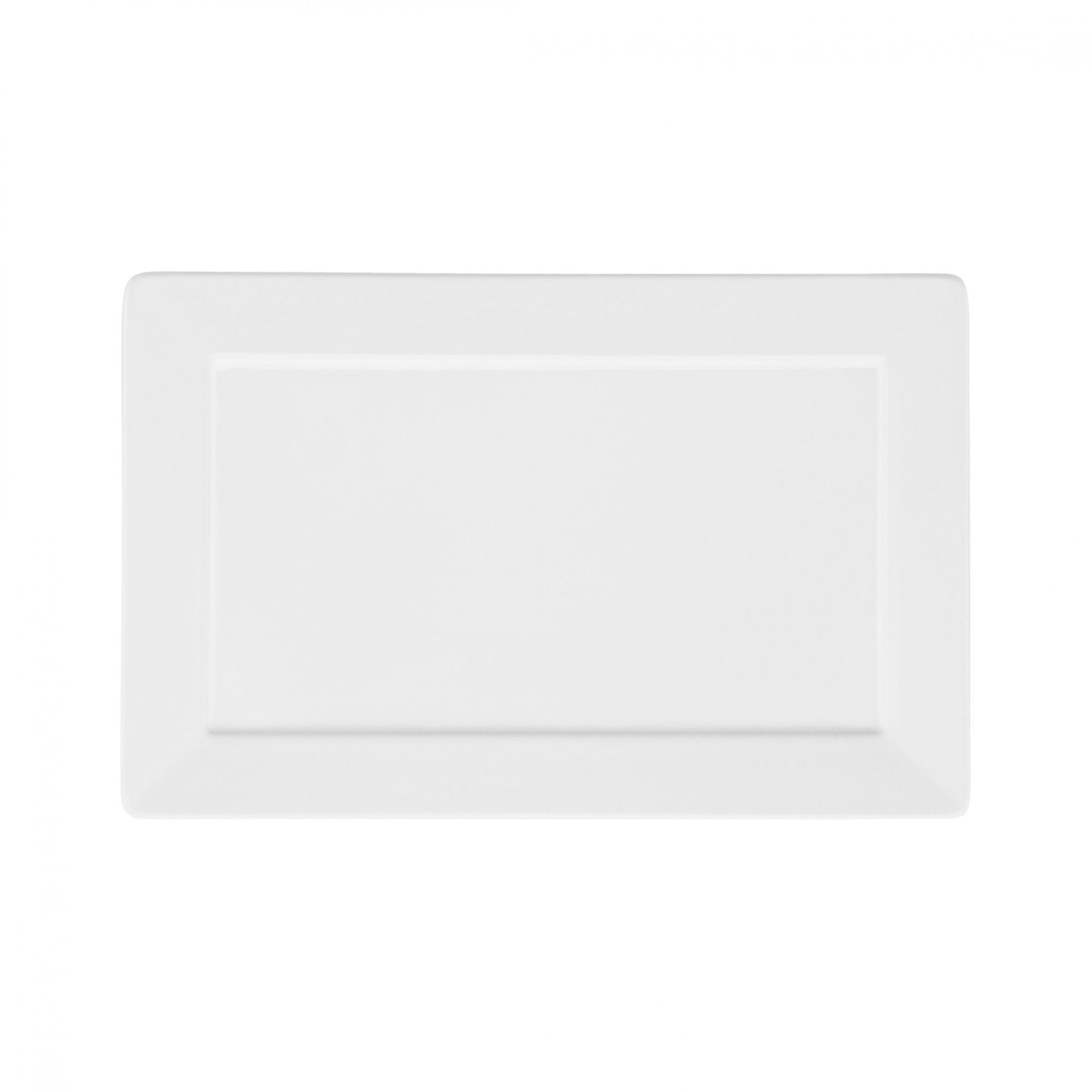 Prato Sobremesa 25x16 cm Plateau White
