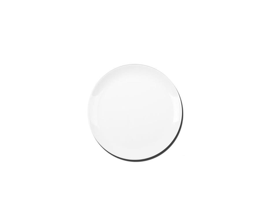 Prato Sobremesa  Opaline Blanc 19cm