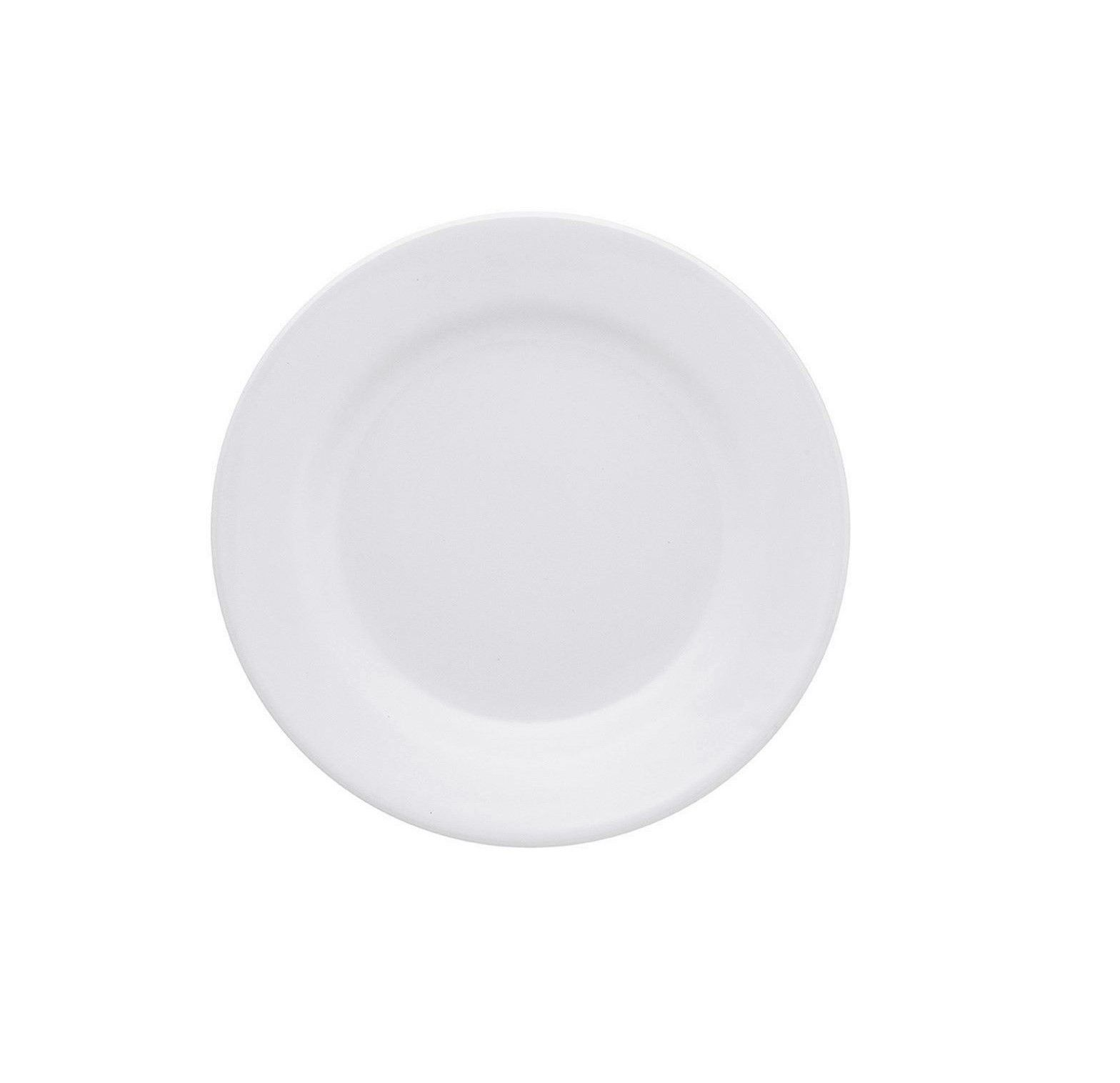Prato Sobremesa Vitramik Plus 19cm Branco
